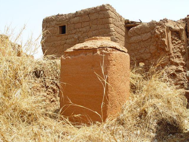 Village du Burkina Faso Un grenier