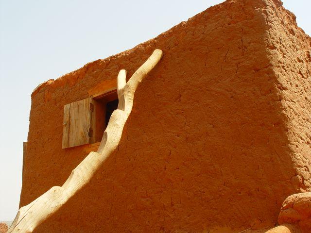 Maison au Burkina Faso Echelle
