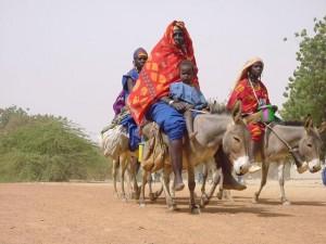 Burkina Faso Femmes Peules Marché de Marcoye