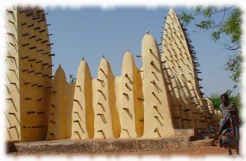 La mosquée de Bobo Dioulasso