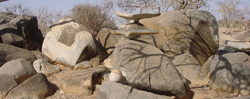Sculptures de Granit de Laongo Burkina Faso