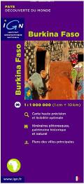 Carte du Burkina Faso Carte routière
