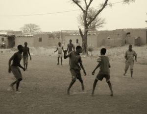 La passion du foot au Burkina